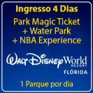 Walt Disney World 4 Park Magic com Water Park + NBA Experience