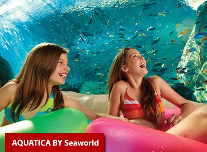 SeaWorld Parks - 2 visitas + Uma grátis + All Day Dining Deal para os 3 dias - Acima de 3 anos (Ingresso Eletrônico)